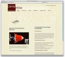 Cavaletto Web