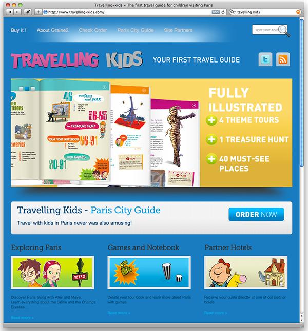 Travelling-kids Paris