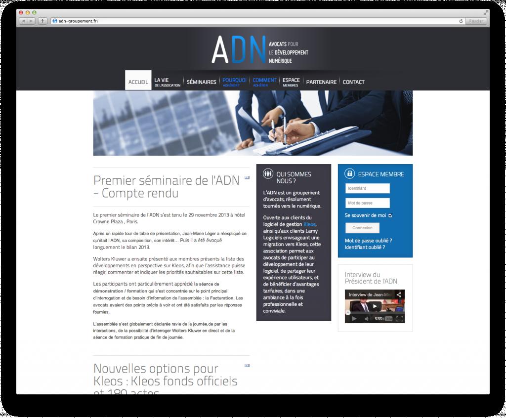 Site des Avocats pour le Développement Numérique