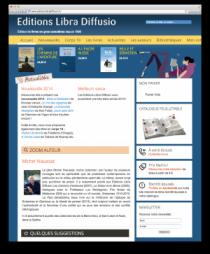 Site web Libra Diffusio Aperçu