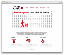 Site web Cito agence de communication