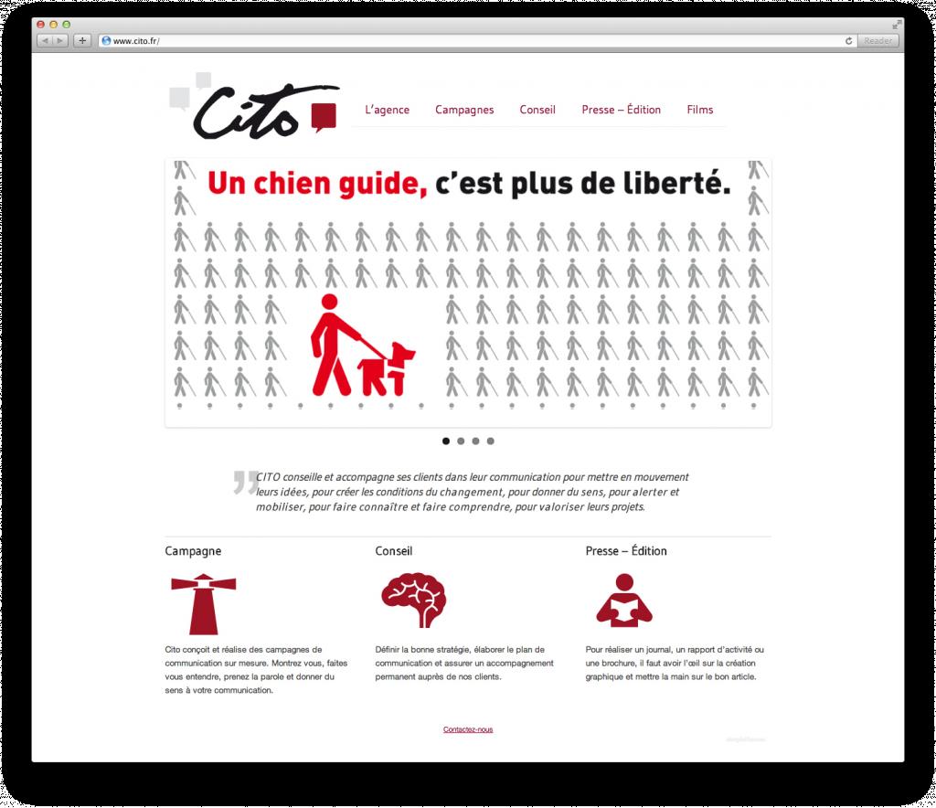 Site de l'agence Cito