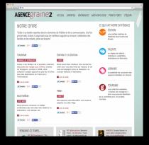 Site web Graine2 Aperçu