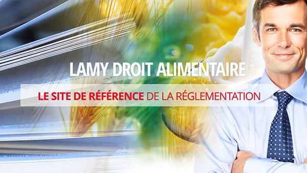 Présentation vidéo Lamy Droit Alimentaire