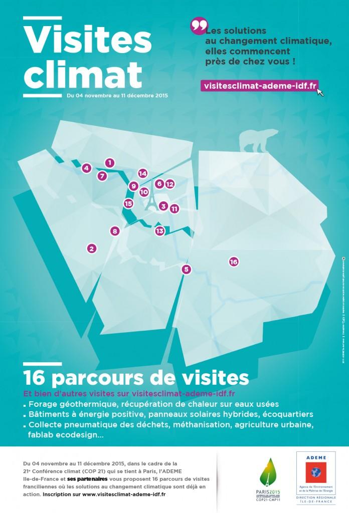 Visites Climat ADEME Paris