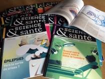 Magazine Science et Santé Couvertures