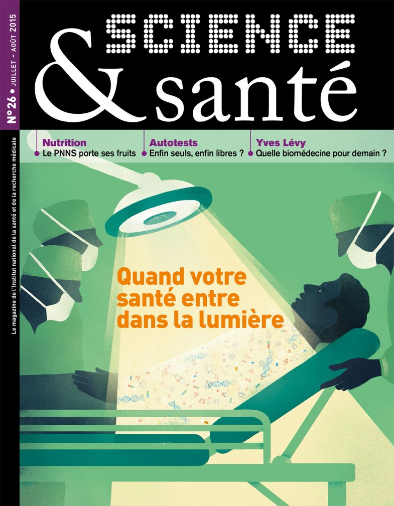 Magazine INSERM Science santé Sebastien Thibault