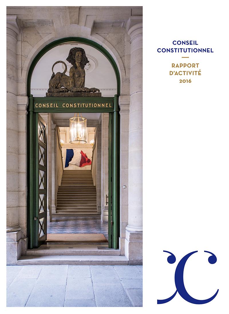 Conseil Constitutionnel – rapport d'activité 2016