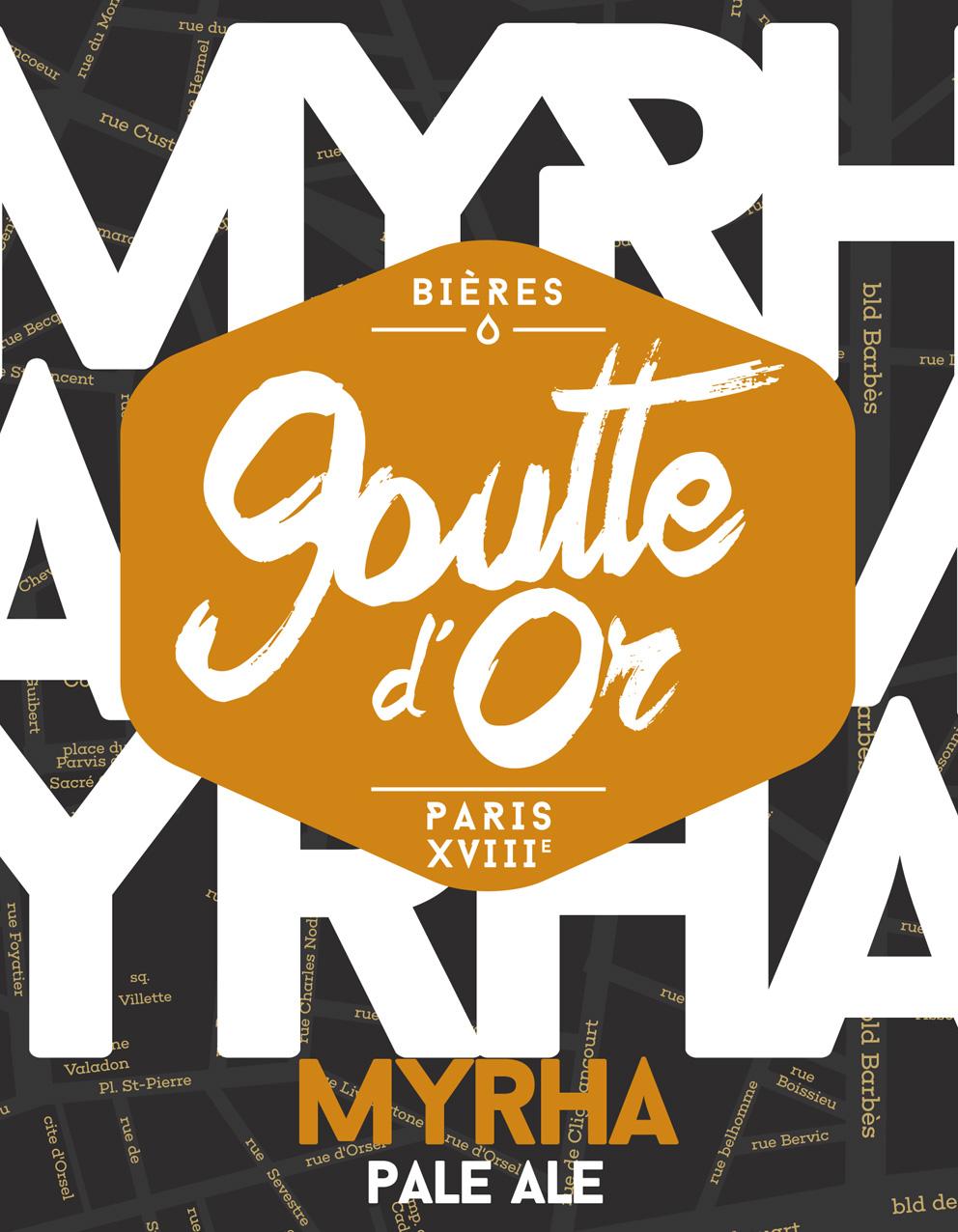 Bière de la Goutte d'Or – Identité de marque